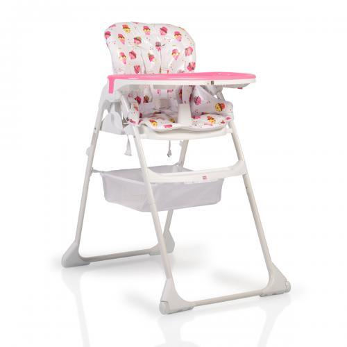 Scaun de masa copii Cangaroo Berry Pink