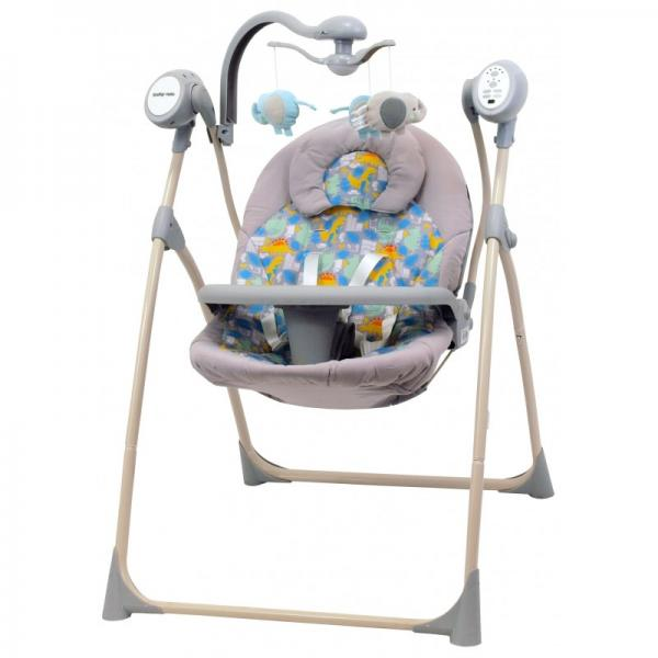 Leagan Electric Copii Cu Muzica Baby Mix SW102RC Dino