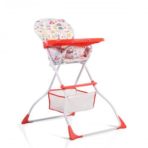 Scaun de masa copii Cangaroo Moove Red